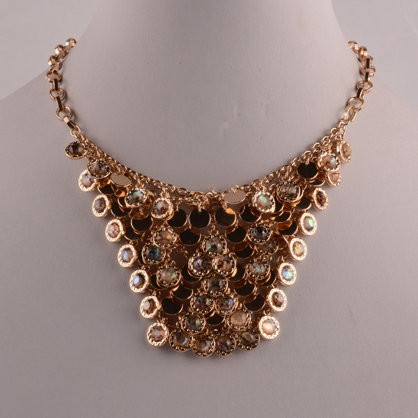 907420 Lady Statement Necklace