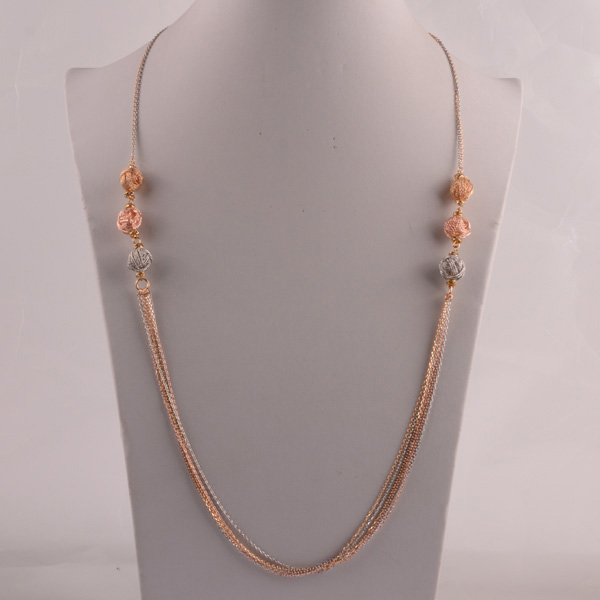 907451 Lady Long Necklace