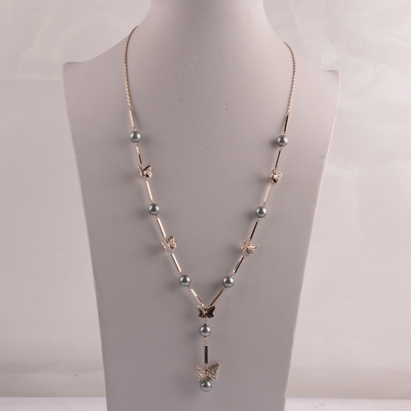 907490 Lady Long Necklace
