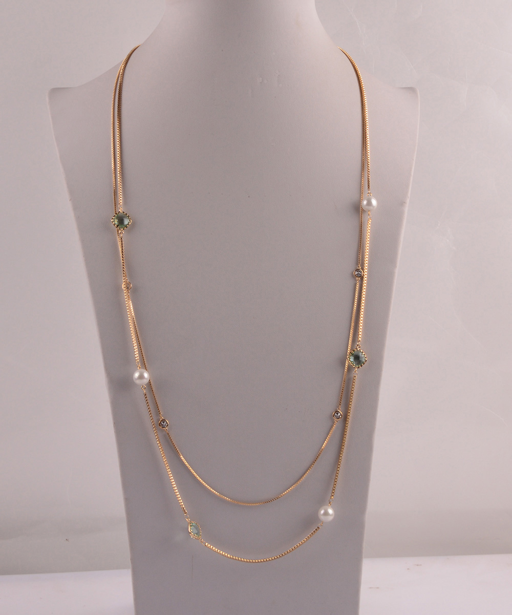 907524 Lady Long Necklace