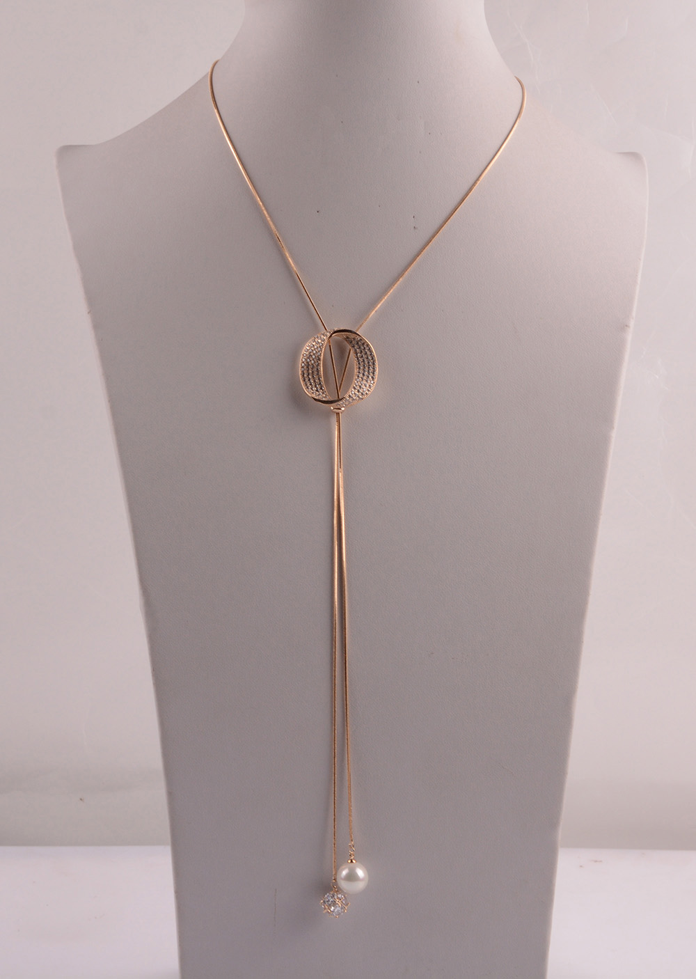 907534 Lady Long Necklace