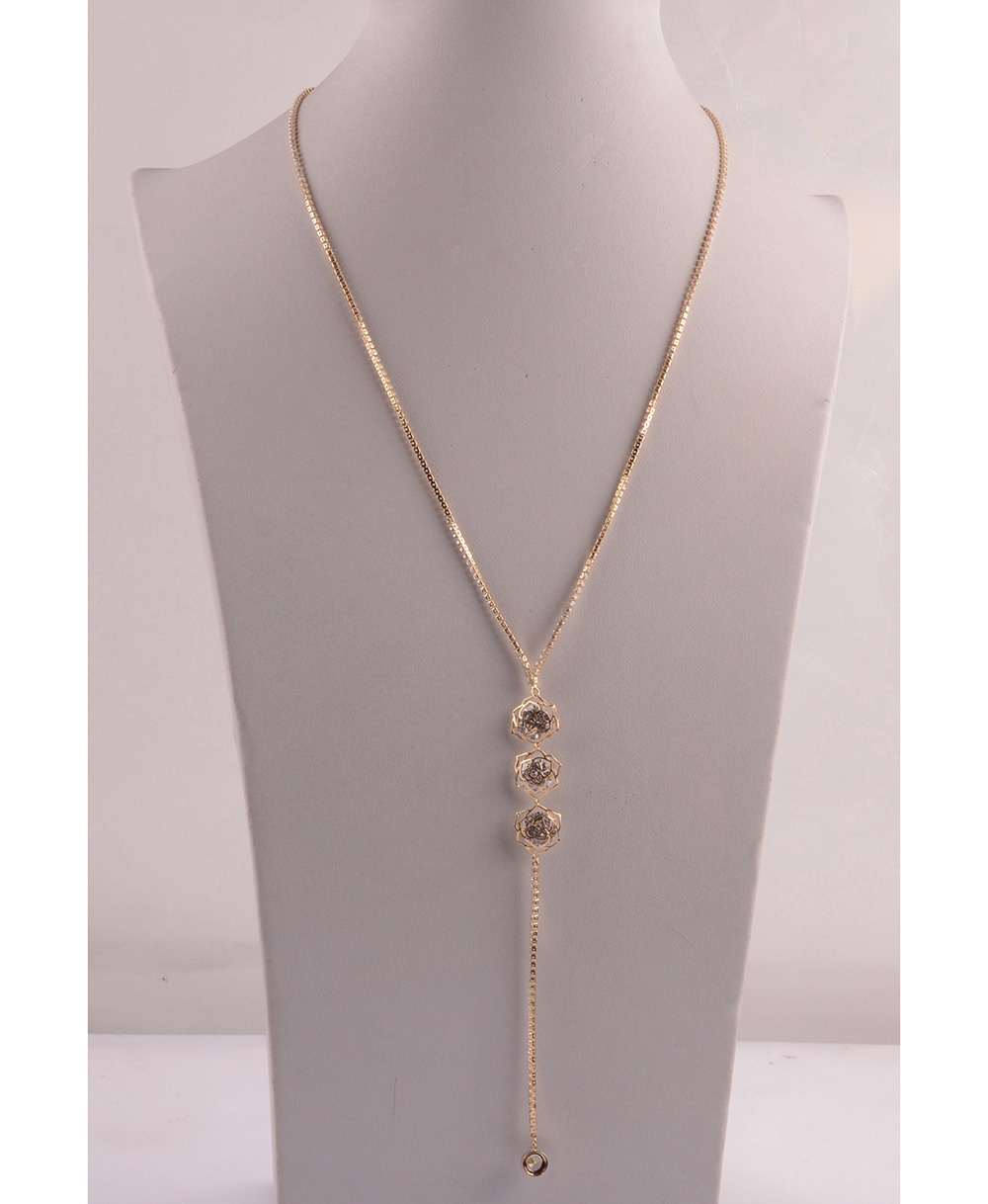 907541 Lady Long Necklace