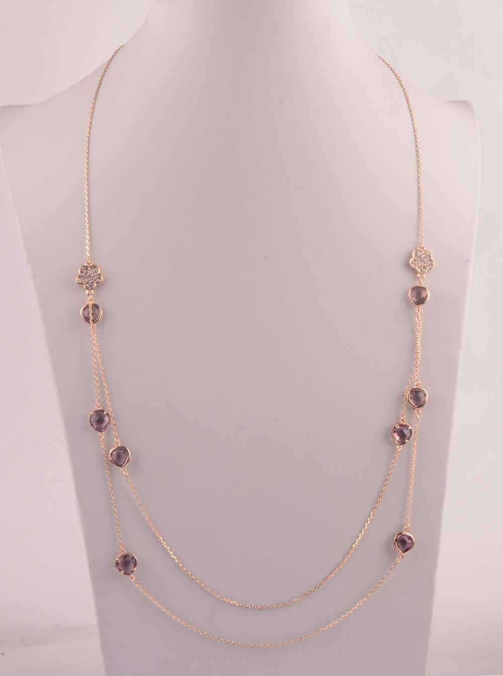 907553 Lady Long Necklace