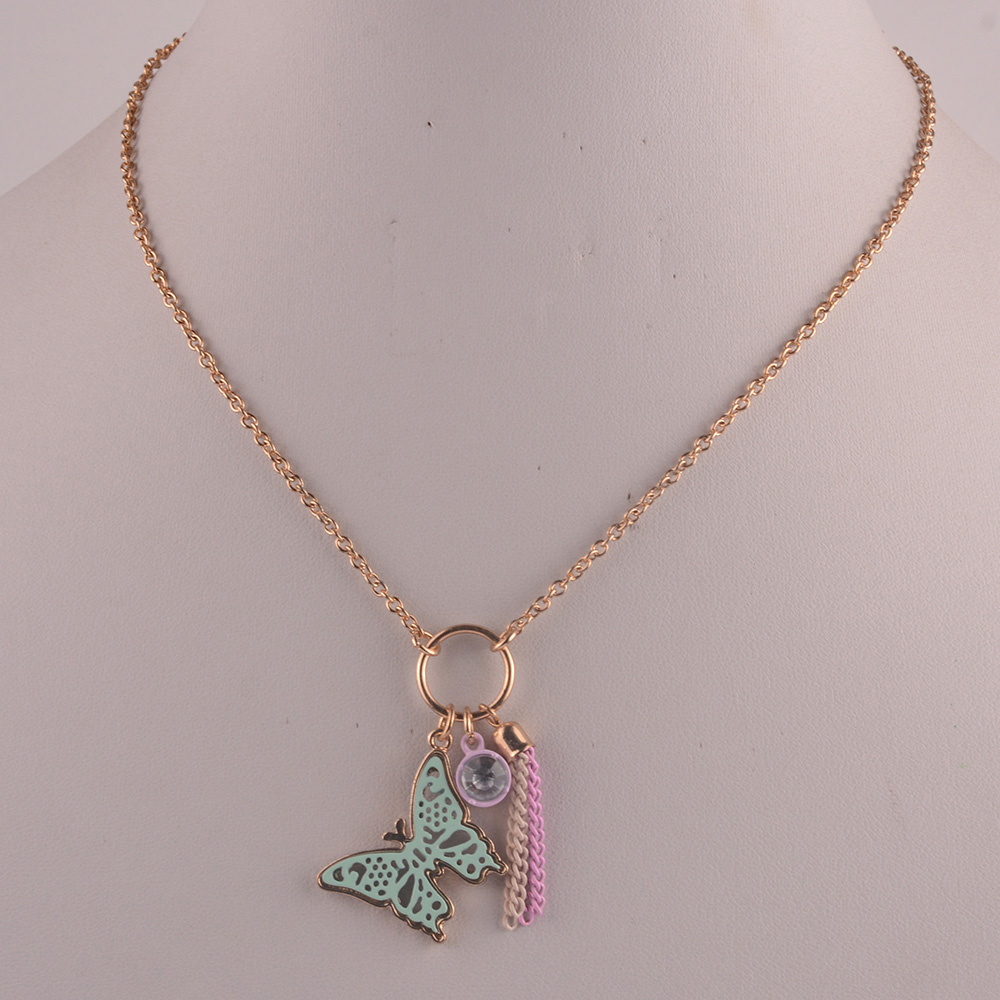 907712  Kid Epoxy Necklace